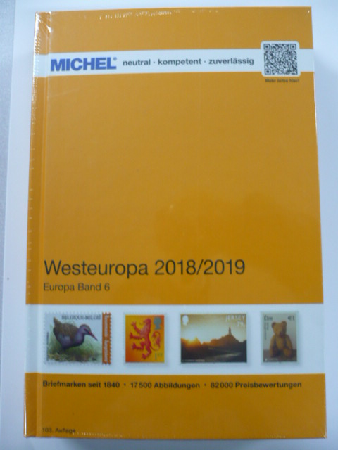MICHEL BAND 6 WEST EUROPA 2018/2019 - Foto 1